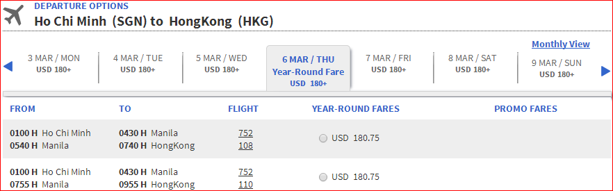 Hong Kong - HCM