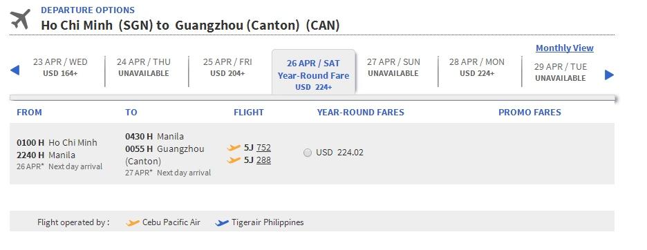 Vé máy bay đi Trung Quốc