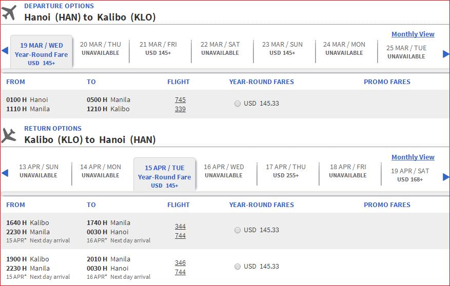 Vé máy bay giá rẻ đi Boracay