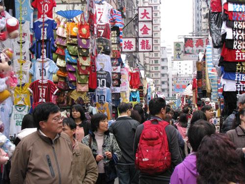 Mua sắm thỏa thích ở Phố Quý Bà Hồng Kông