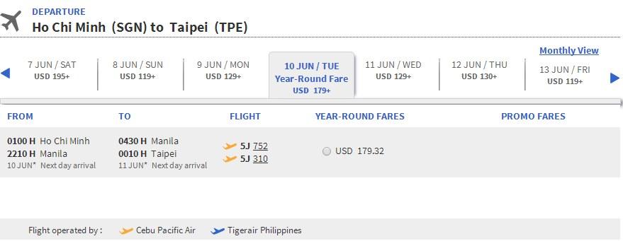 Vé máy bay đi Cao Hùng giá rẻ
