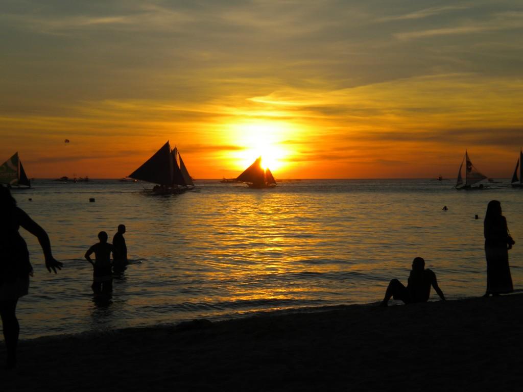 Say đắm thiên đường Boracay