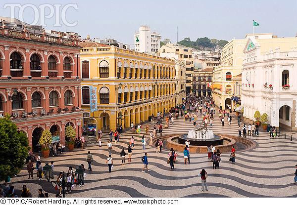 Du lịch thành phố không ngủ Macao