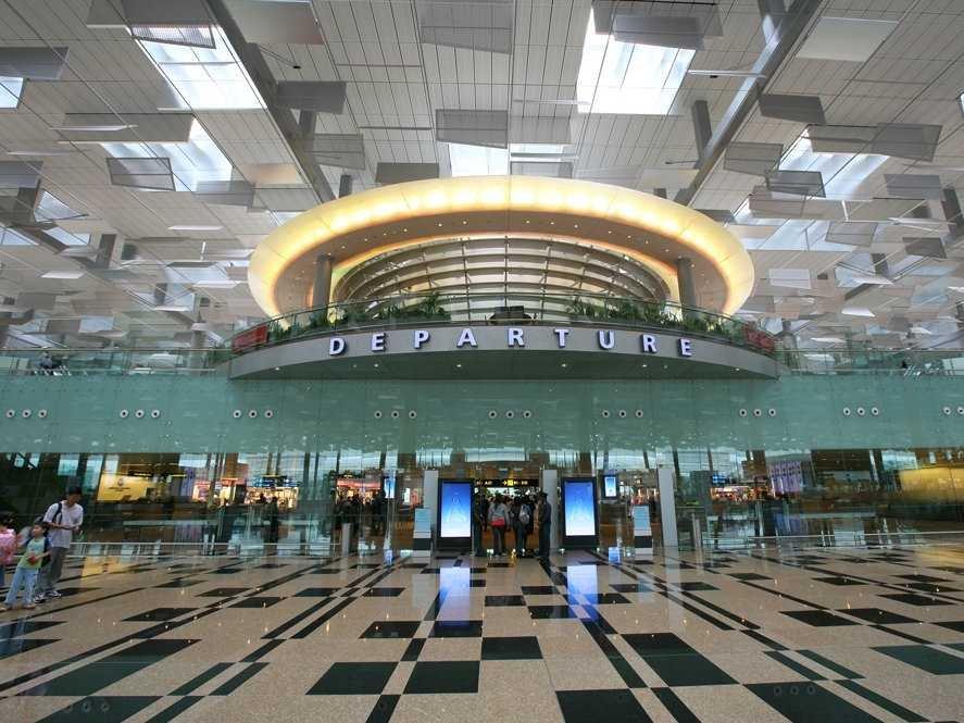 Singapore Changi sân bay tốt nhất thế giới