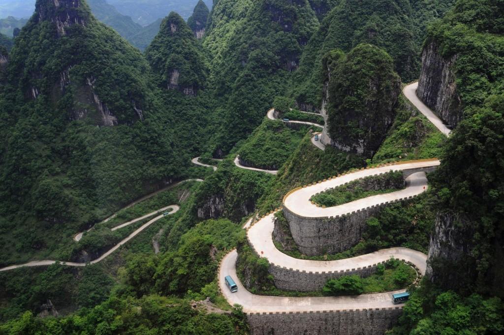 Khám phá con đường lên thiên đường ở Trung Quốc