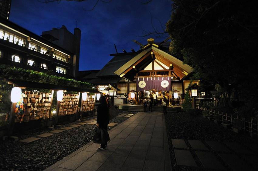 Tham quan đền tình yêu ở Nhật Bản