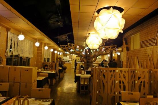 Khác lạ nhà hàng theo chủ đề ở Đài Loan