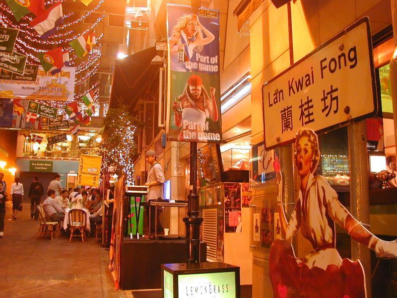 Khám phá Lan Quế Phường, Hong Kong
