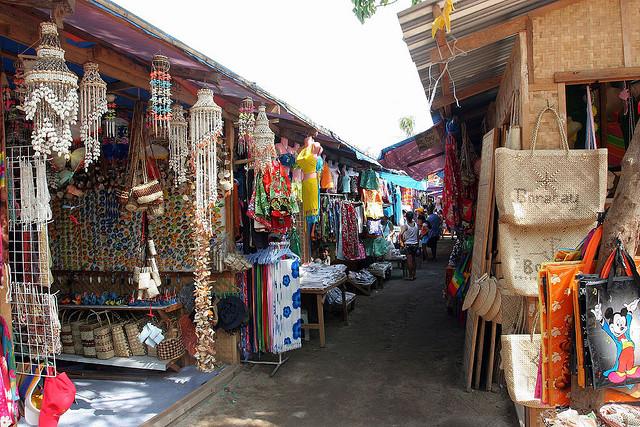 Mua sắm thỏa thích ở Boracay