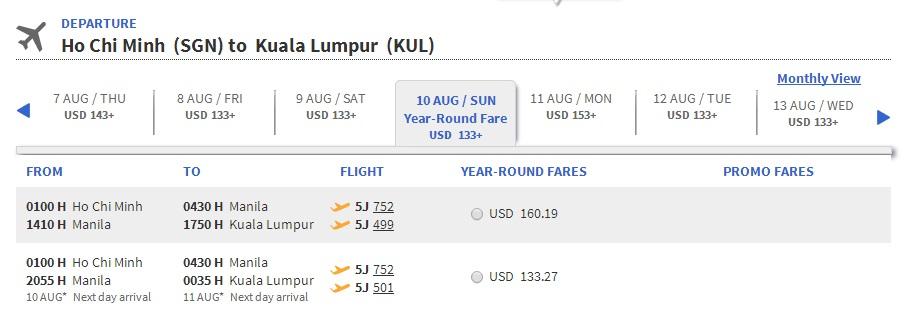 Mua vé máy bay đi Malaysia giá rẻ
