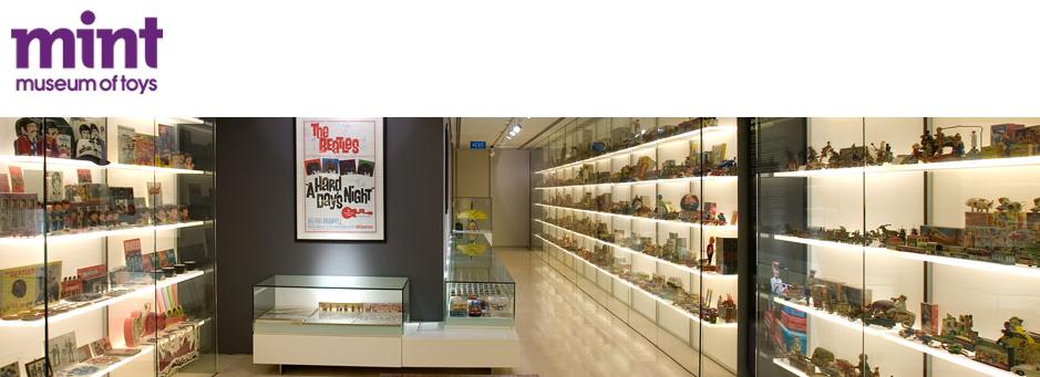 Ghé thăm bảo tàng đồ chơi MINT ở Singapore