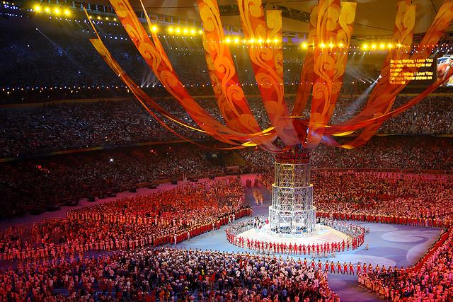 Độc đáo sân vận động tổ chim ở Bắc Kinh