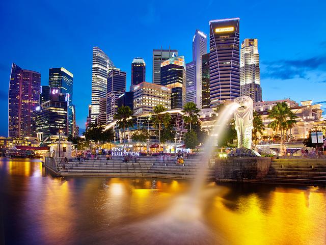 Tượng Merlion - biểu tượng của Singapore