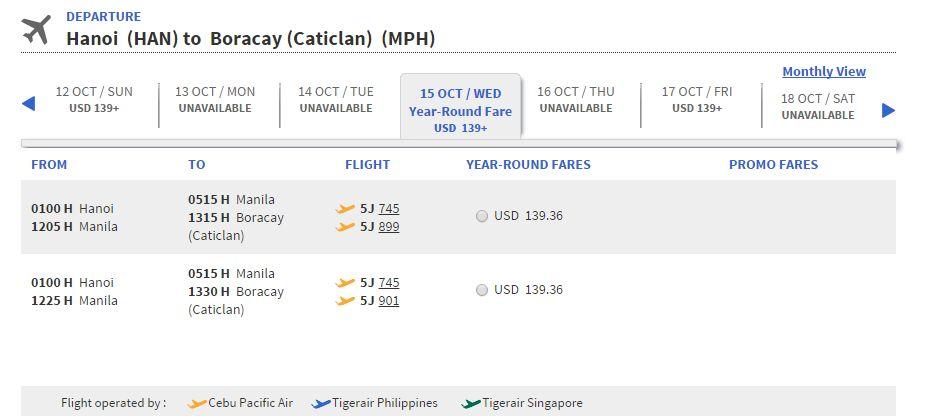 Mua vé máy bay đi Boracay ở đâu