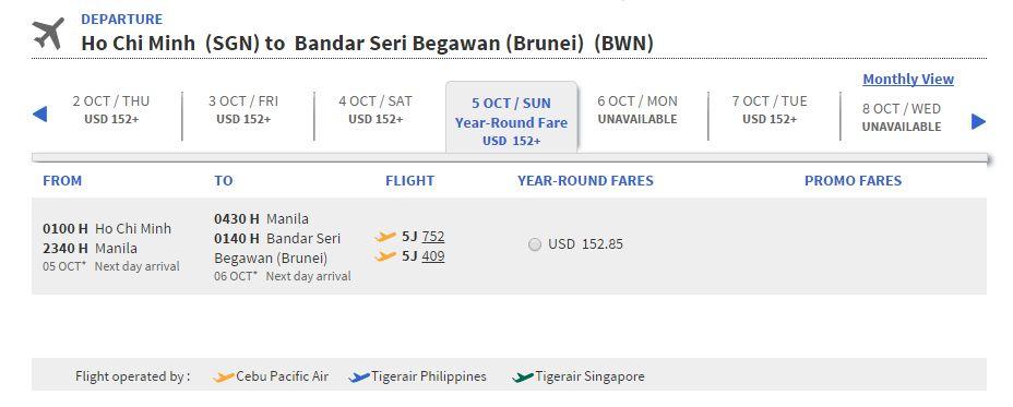Mua vé máy bay giá rẻ đi Brunei ở đâu