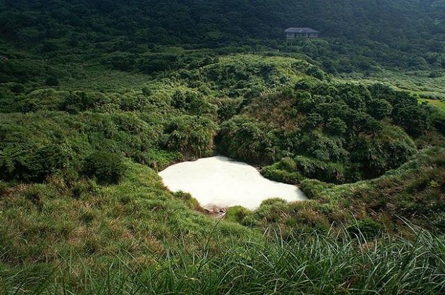 Say đắm cảnh quan núi Dương Minh
