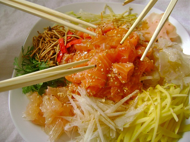 Yeesang món ăn truyền thống ngày Tết của Malaysia
