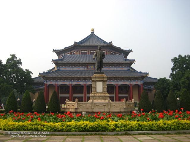 Ghé thăm nhà tưởng niệm Tôn Trung Sơn
