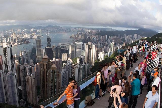 Khám phá vẻ đẹp Hong Kong từ trên đỉnh The Peak