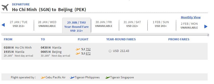 Vé máy bay Hà Nội đi Trung Quốc