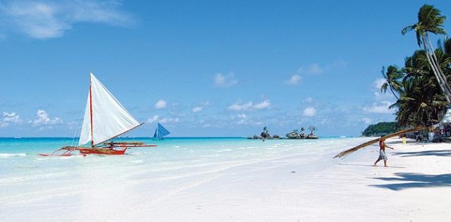 Bãi biển ở Boracay