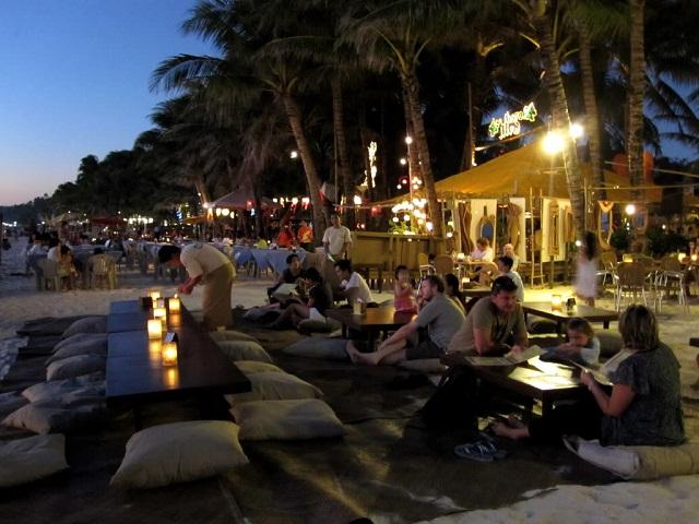 Buổi tối ở Boracay