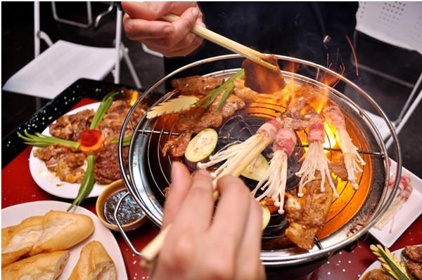 Lẩu nướng Hàn Quốc ở Hong Kong