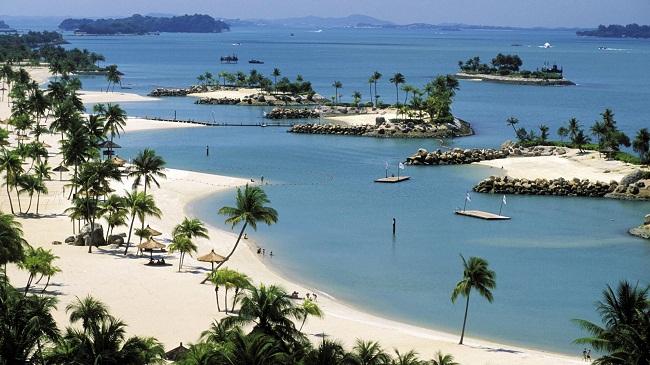 Bãi biển hoang sơ ở Singapore