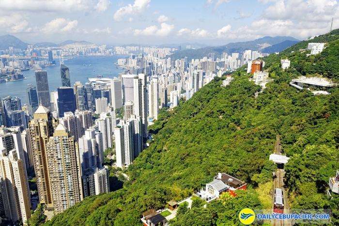 Hong Kong có cảnh sắc thiên nhiên đầy cuốn hút