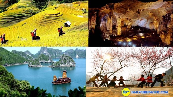 Việt Nam không chỉ nổi tiếng với cảnh quan thiên nhiên tươi đẹp mà mức phí du lịch cũng rất phải chăng